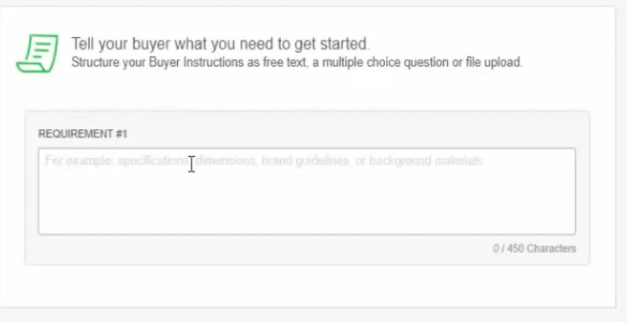 Create a profile on Fiverr